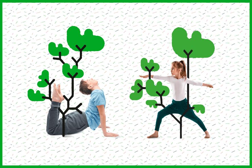 Yoga educativo para niños y familias